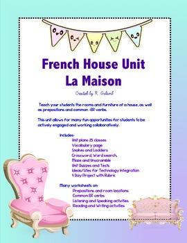 Maison/ House Complete French Unit