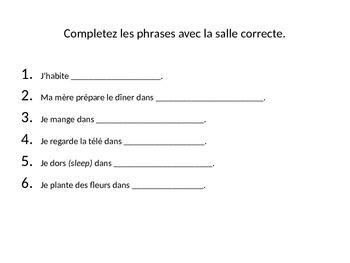 French House PowerPoint