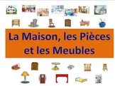 French House, Room & Furniture Powerpoint (Activities and Games)