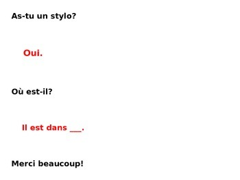 French 1, Discovering French Bleu, Unit 4 Lesson 9, Conversations w prepositions