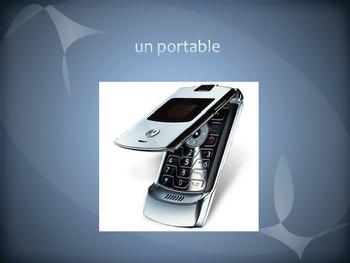 French I Electronics vocabulary