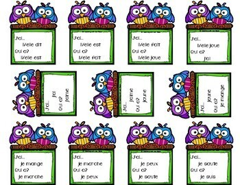 French: I Have, Who Has? Card Game {J'ai...Qui a?}
