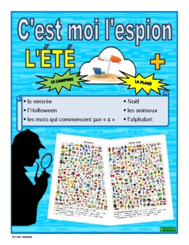 French I Spy Activities (Summer+)