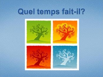 French I Weather Vocabulary