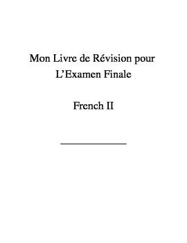 French II--Grammar Review Booklet--Mon Livre de Revision