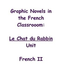"Advanced French Graphic Novel Unit: companion for ""Le Chat du Rabbin"""