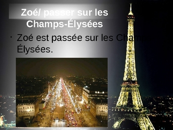 French II - Le Passe Compose - Practice with le 14 juillet