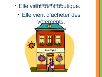 French II - Venir de - To have just...