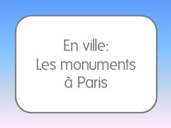 French I/II: Paris Monuments