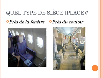 French III Partons en voyage - Airport vocabulary