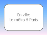 French I/II: Using the Metro in Paris
