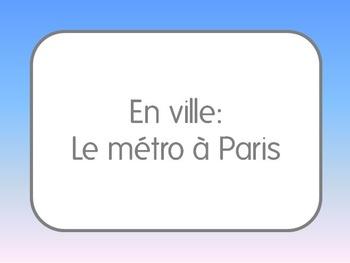 French I/II: Using the Metro in Paris