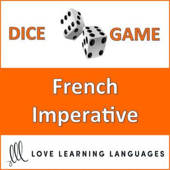 French IMPERATIVE Tense Bundle - L'impératif