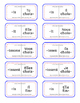 French -IR Verb Present Tense Dominoes