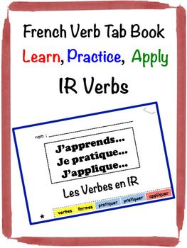 French IR Verb Tab Book