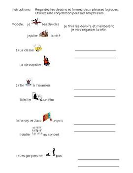 French- IR verb & Futur Proche Practice