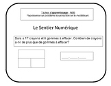 French Immersion Addidition Subtraction practice sheet