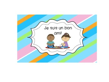 French Immersion Classroom Rules Signs/Labels- Improved!