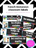 French Schedule Cards with Visuals- Back to school
