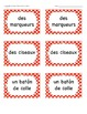 French Immersion Classroom Vocabulary Activities