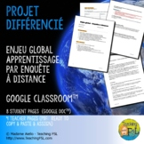 French Immersion Distance Learning | Enjeux globaux | Glob
