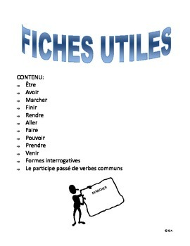 French Immersion-Fiches utiles