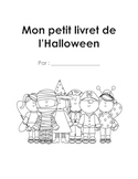 French Immersion Halloween Writing Booklet