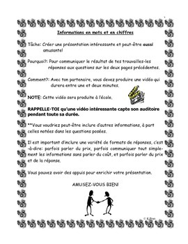 French Immersion-Informations en mots et en chiffres
