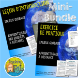 French Immersion | Intro to Global Issues Teaching Bundle