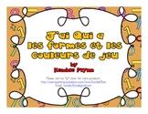 French Immersion J'ai Qui a les formes et les couleurs de jeu