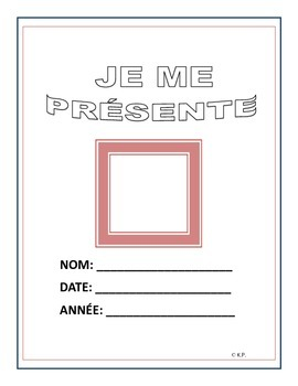 French Immersion-Je me présente