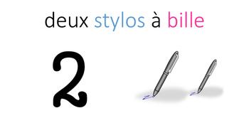 French Immersion - Les nombres de 1 à 20