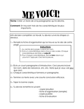 French Immersion-Me voici