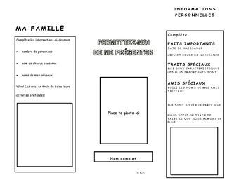 French Immersion-Permettez-moi de me présenter