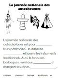 French Immersion, Celebration no.37 - La journée des autochotones