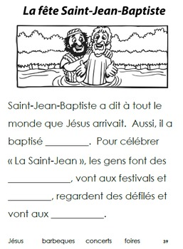 French Immersion, Celebration no.39 - La Saint-Jean