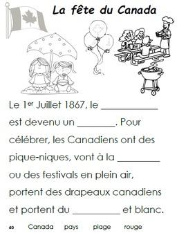French Immersion, Celebration no.40 - La fête du Canada