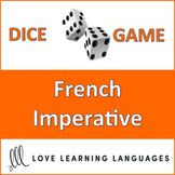 French Imperative Dice Game - l'Impératif - Jeu de Dés