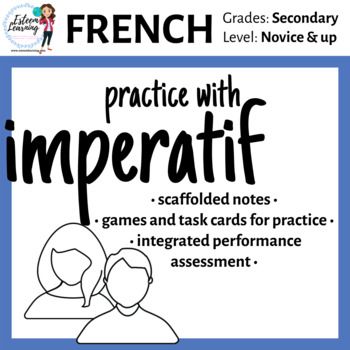 French Imperative Lesson & Practice