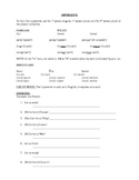 French Imperative Review Handout