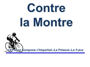 French Imperfect, Passé Composé, Future Writing Activity, Powerpoint