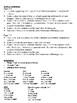 French Imperfect Tense Writing Activities; Regular and Irregular (6 Versions)