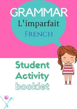 French Imperfect tense, l'imparfait worksheet