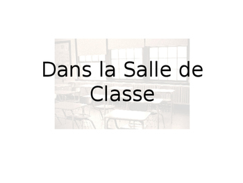 French In the Classroom Guided Notes