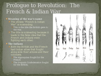 French & Indian War PowerPoint