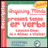 French Inquiring Minds Grammar Lesson 1 Present Tense -er Verbs
