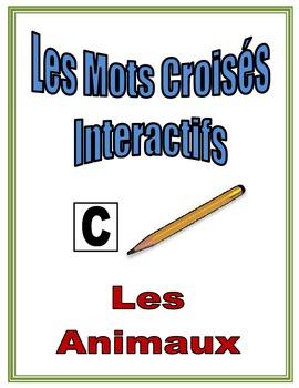 French Animals Interactive Crossword Puzzle, Speaking Activity