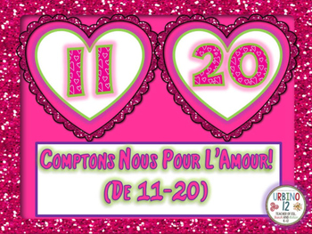 French: Comptons Pour l'Amour! (De 11-20)