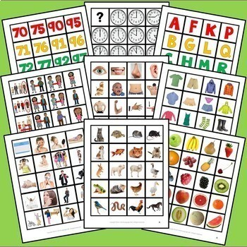 French Interactive Notebook Flashcards Bundle