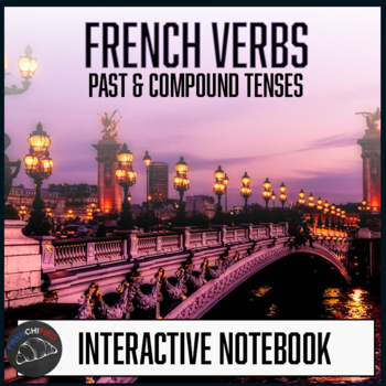 French Interactive Notebook - Foldables - Past & Compound Verb tenses